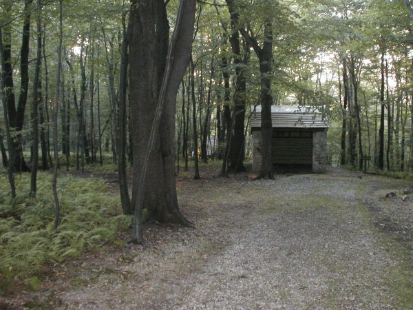 PA271 shelter area