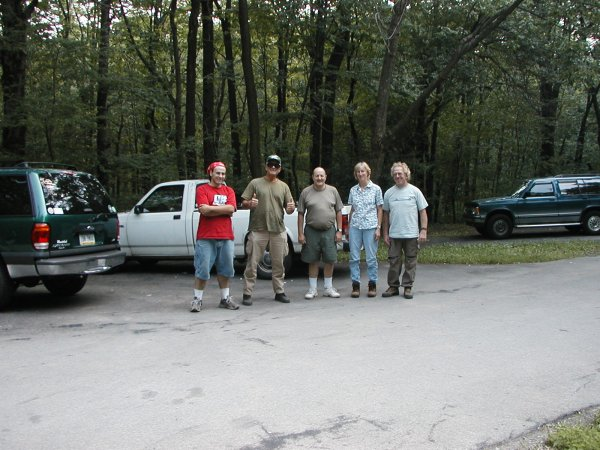 Group picture at end of hike