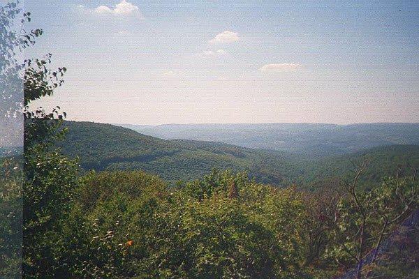 Scenic view near milepost 21