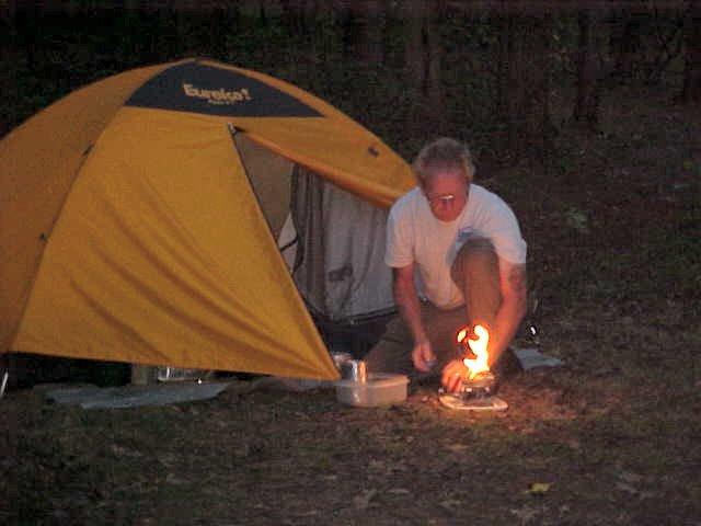 Bill Preparing dinner