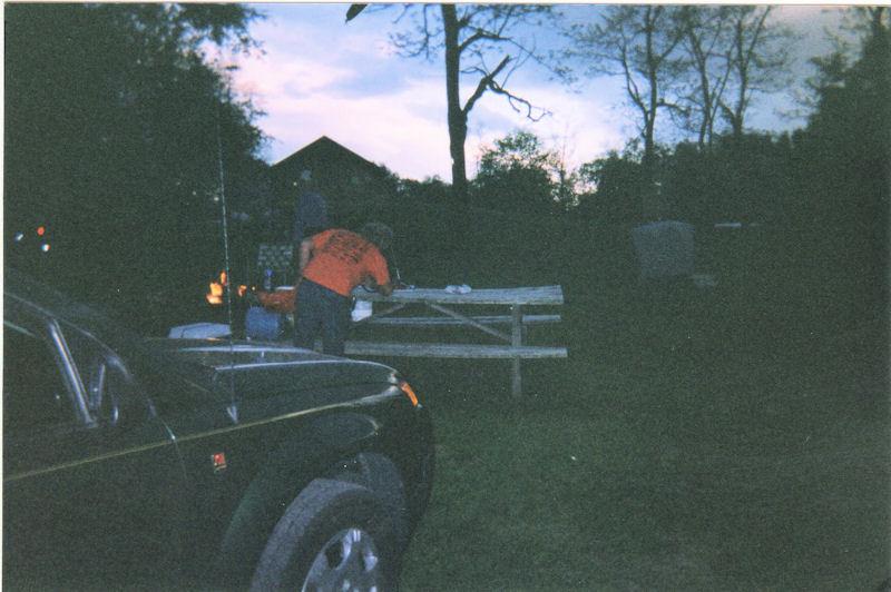 Blue Knob Campground Campsite