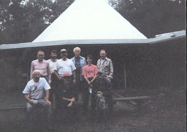 Group picture of the Massarock Crew for 09/09-13/1996