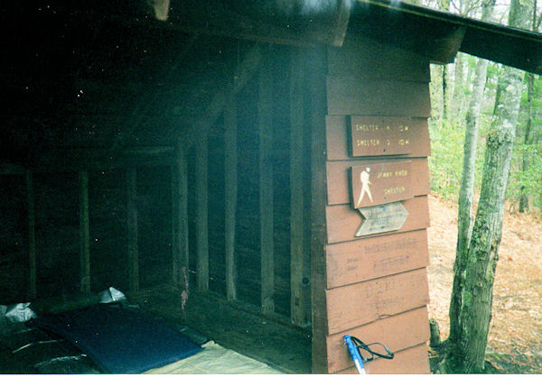 Jenny Knob Shelter, VA