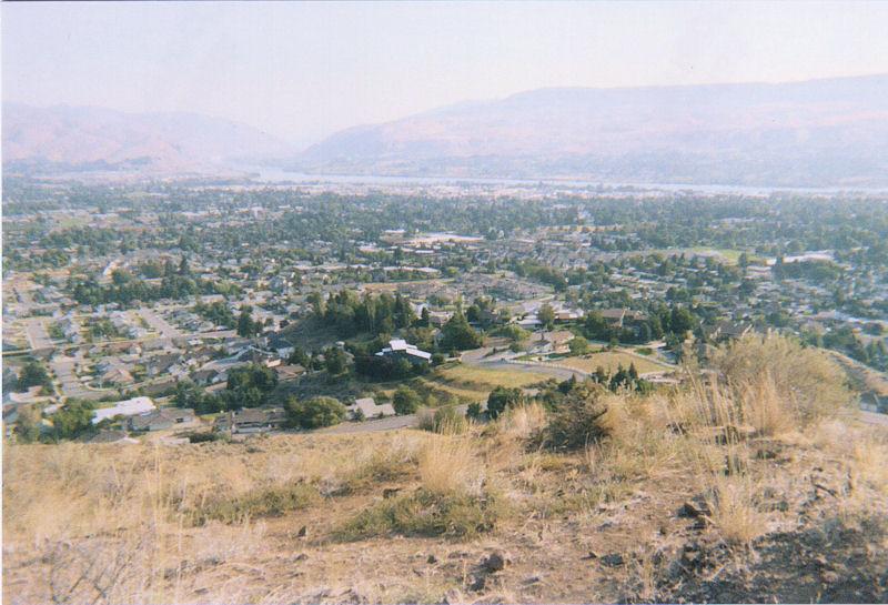 Wenatchee, WA & Columbia River
