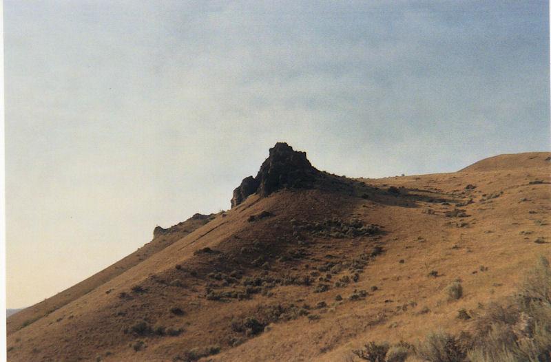Near the peak of Saddleback MTN, WA