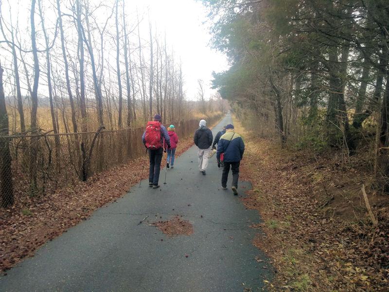 The final mile on Wildlife DR, VA