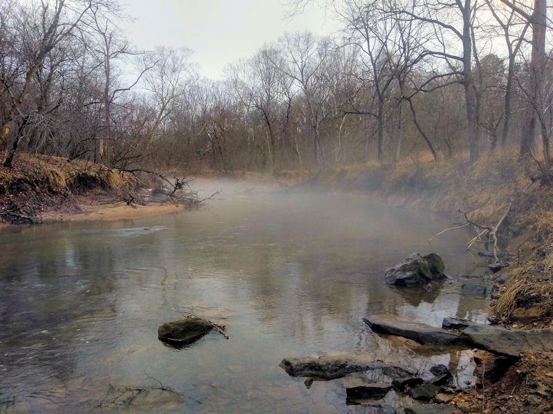 Spooky Rappannock River
