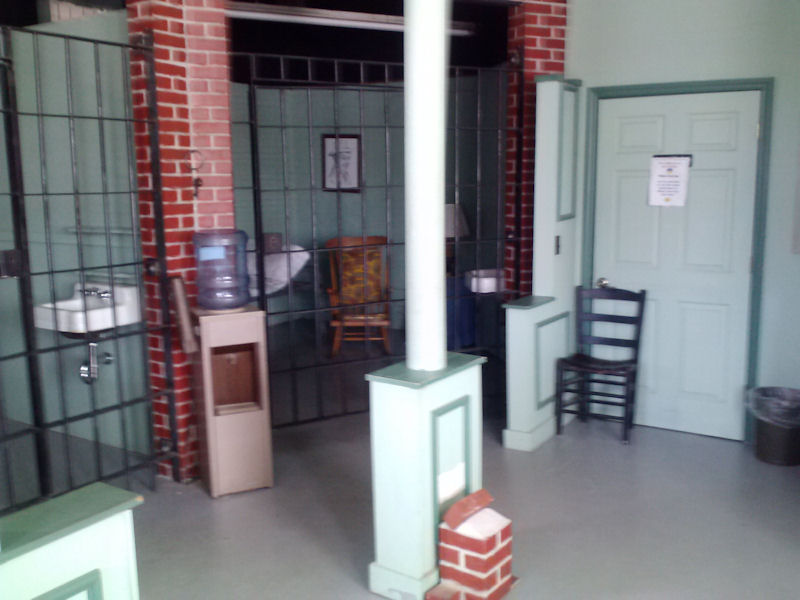 Interior, Mayberry Jail, NC