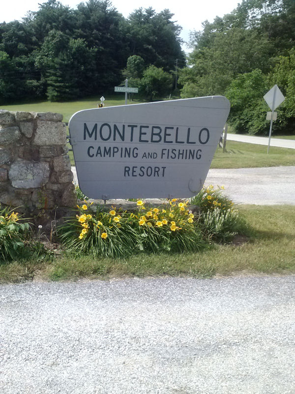 Sign @ Montebello CG