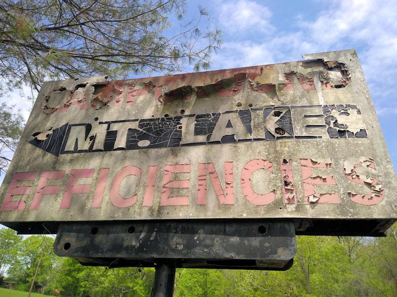 Sign @ Mtn Lake Cmpgnd, VA