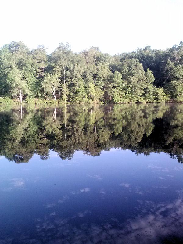 View of Lake Izac, VA