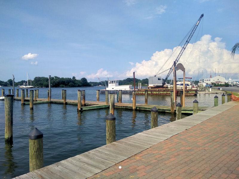 Dock @ Solomons Island, MD