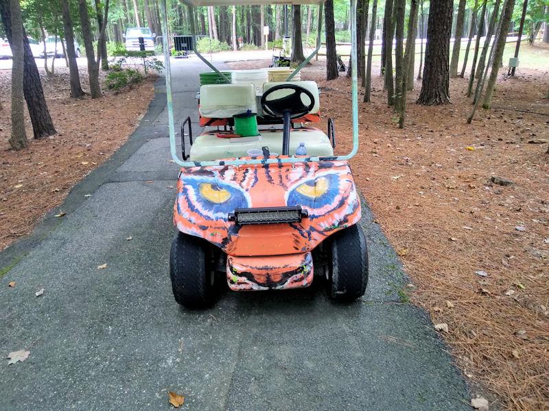 Cool looking golf cart