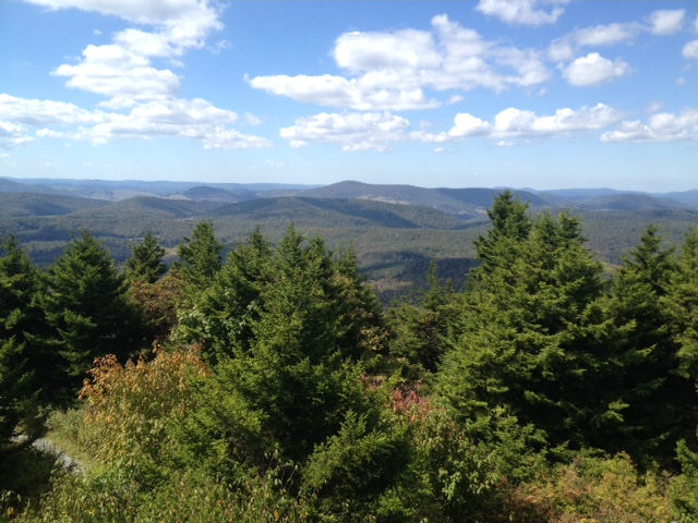 View from Spruce Knob, WV