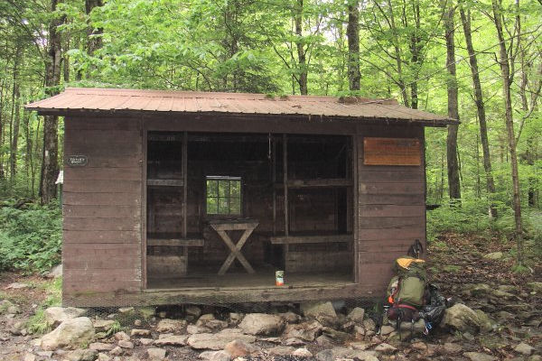 Congdon Shelter on the AT in VT