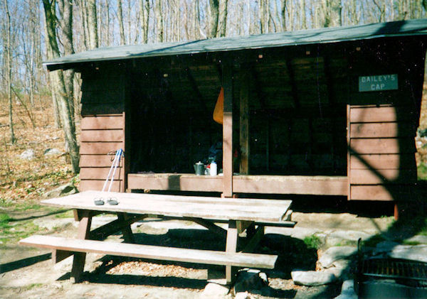 Bailey Gap Shelter on the AT in VA