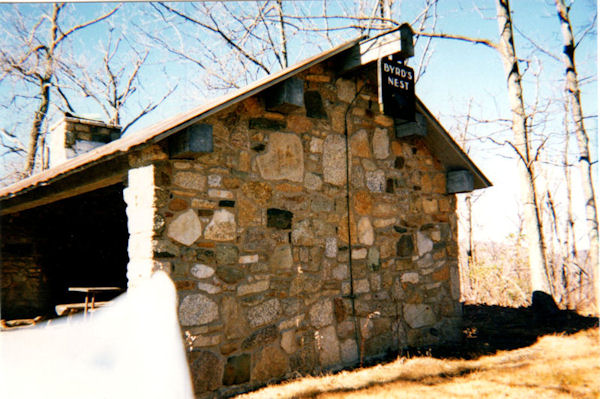 Byrds Nest Shelter, Old Rag MTN, VA