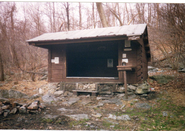 Leroy Smith Shelter on the AT in PA