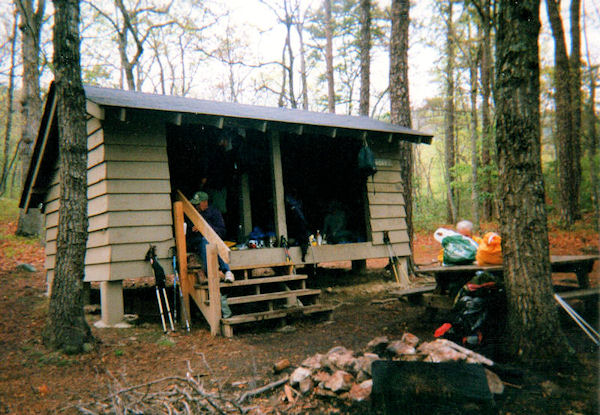 Nidday Shelter on the AT in VA