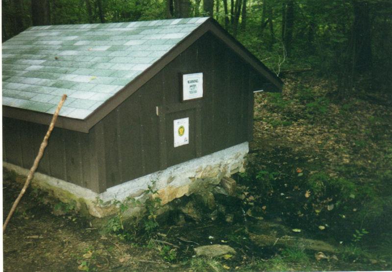 Springhouse around mile 12.65