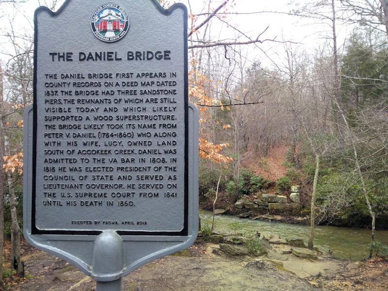 Daniel Bridge Site