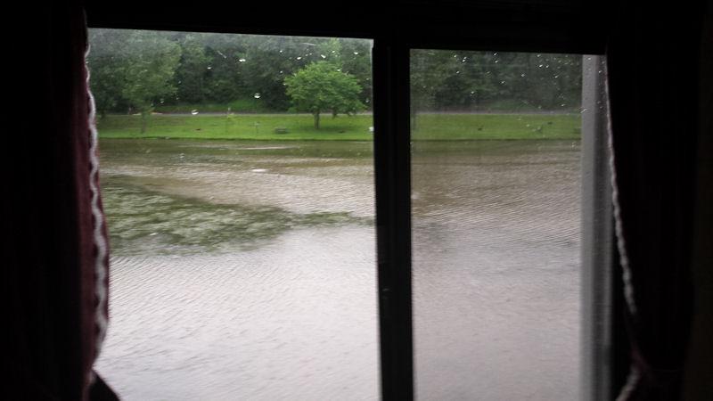 Window view @ KOA Staunton, VA