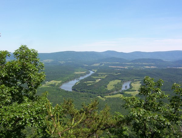 'The Point' along the Shenandoah River
