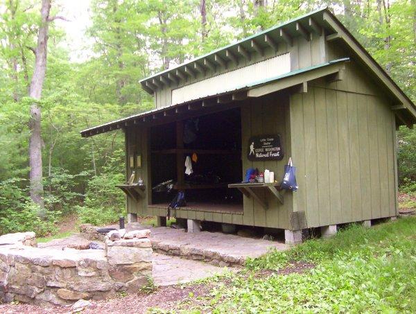 Little Crease Shelter- Tuscarora Trail, VA