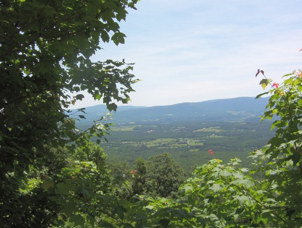 Scenic view from Tuscarora Trail