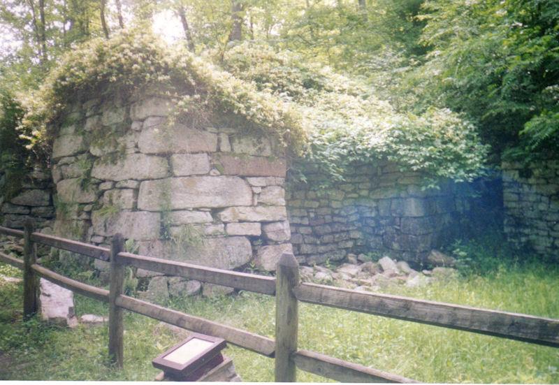 Elizabeth Furnace ruins, GW/JNF, VA