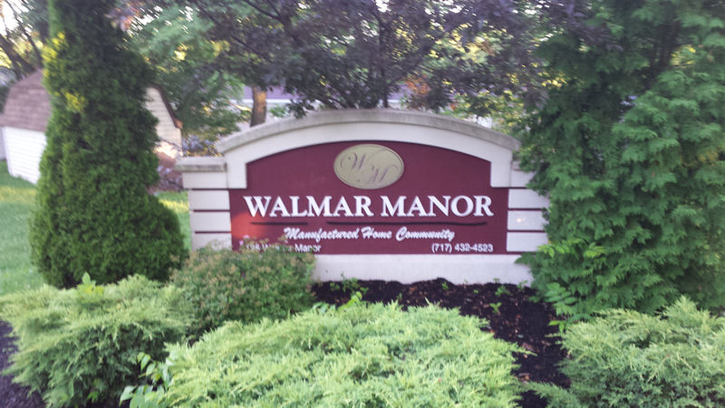Walmar Manor CG Sign