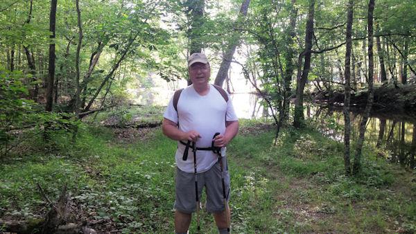 Me at Carvins Cove, Roanoke, VA