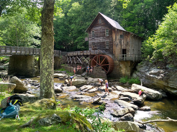 Reconstructed Grist Mill, Babcock SP, WV