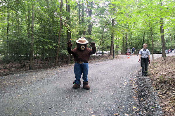 Smokey The Bear, Prince William Forest Park, VA Heritage Fest 09-2018